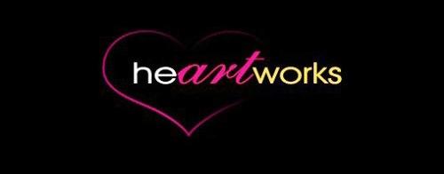 Contoh Logo Bertemakan Hati Love Heart - heart-works