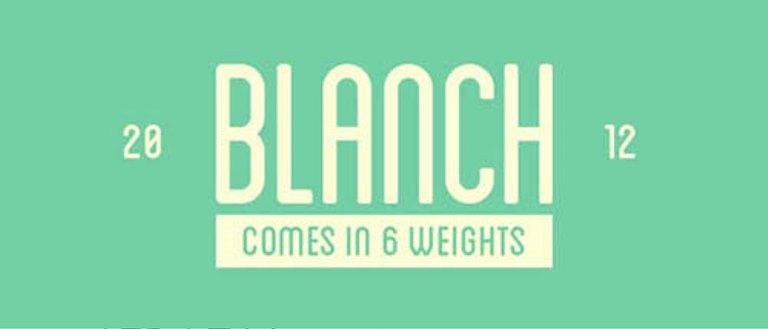 Font Cantik Free Download Gratis - Blanch