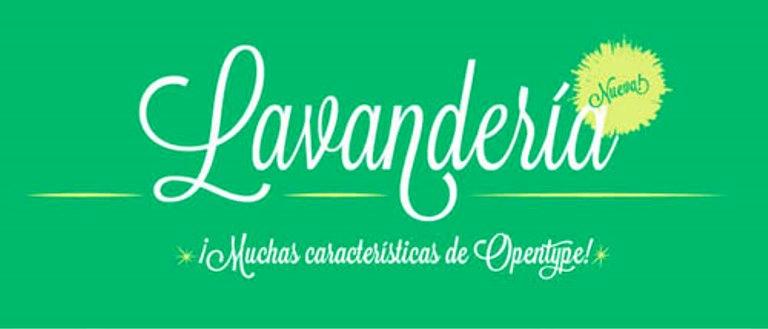 Font Cantik Free Download Gratis - Lavanderia