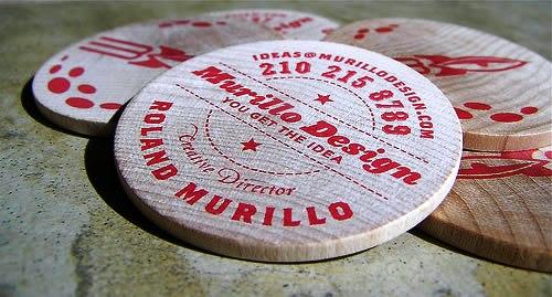 Contoh Desain Kartu Nama yang Unik - Murillo-design