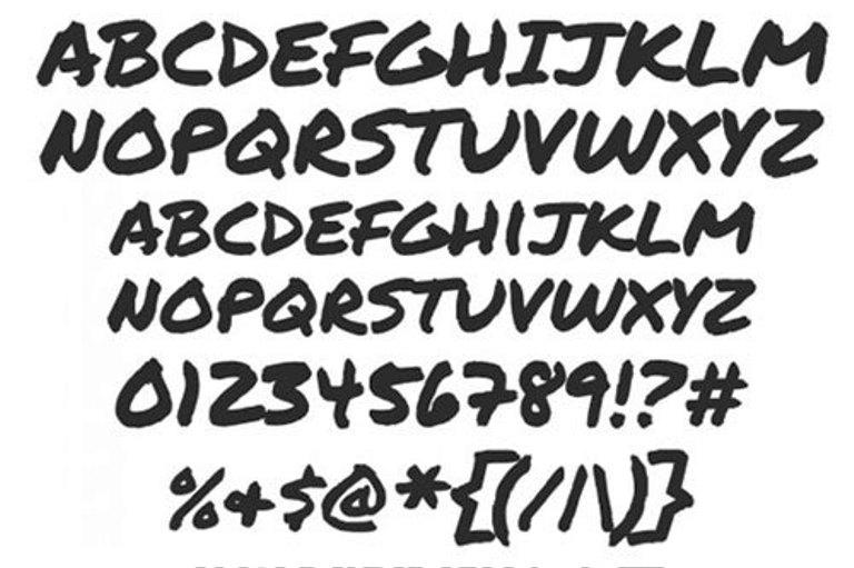 Font Cantik Free Download Gratis - Permanent-Marker