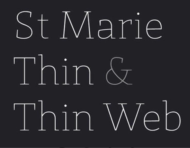 Font Cantik Free Download Gratis - St-Marie
