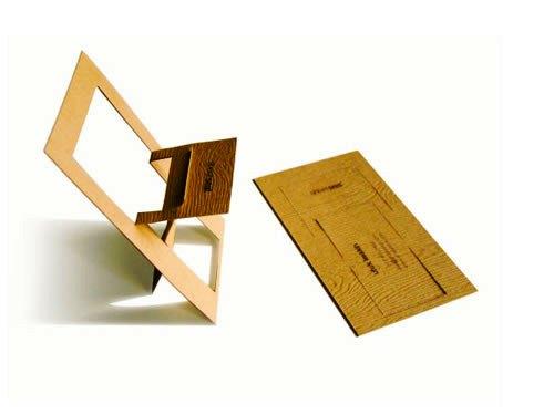 Contoh Desain Kartu Nama yang Unik - chair-and-door-like-business-card