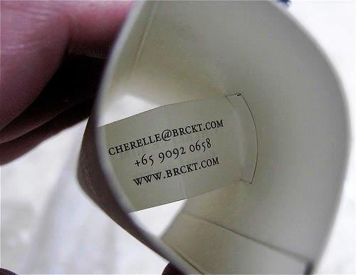 Contoh Desain Kartu Nama yang Unik - cherelle-brckt-business-card