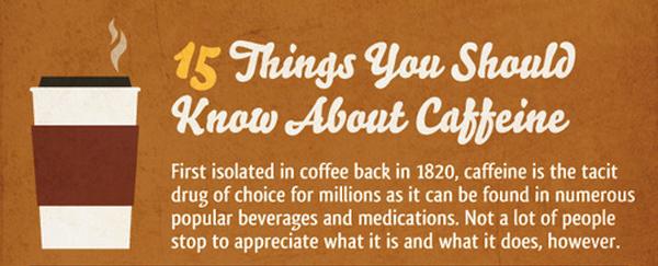 Infografik Kesehatan tentang Kafein