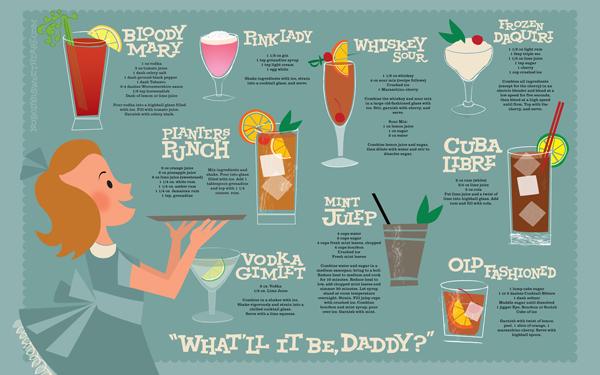 Desain Infografik Keren dan Informatif - Infografik Kesehatan tentang Minuman