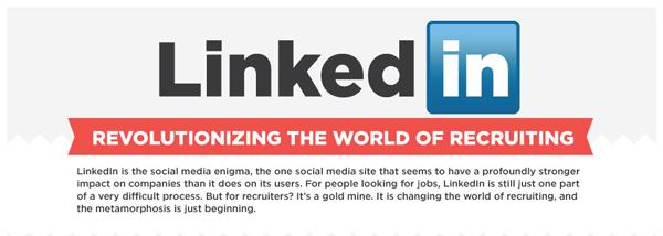 Desain Infografik Keren dan Informatif - Infografik tentang Social Media Linkedin