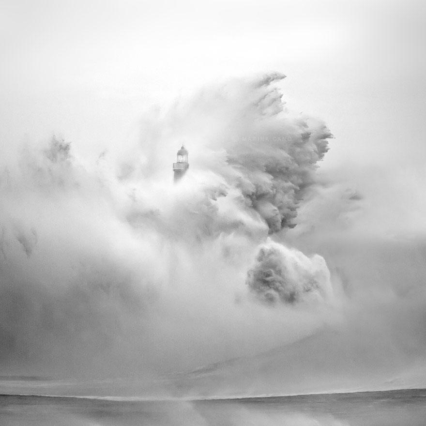Mercusuar Terindah di Dunia - Gambar Foto Lampu Mercusuar Santander, Cantabria, Spanyol
