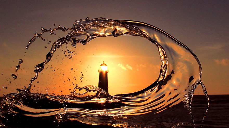 Mercusuar Terindah di Dunia - Gambar Foto Lampu Mercusuar Talacre, Wales, Inggris