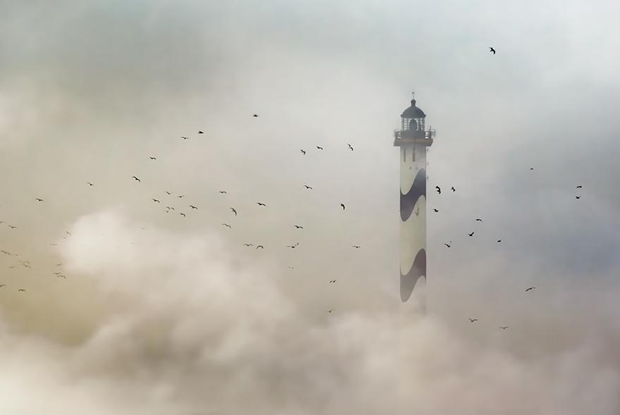 Mercusuar Terindah di Dunia - Gambar Foto Lampu Mercusuar The Lange Nelle Ostend, Belgia
