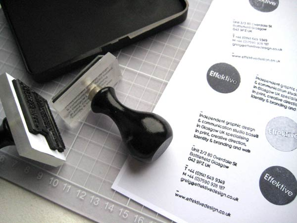 39 Desain Stempel Karet Standar Biasa - Desain Stempel Karet - Effektive Stationery 1