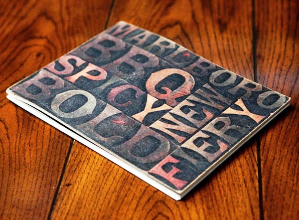 22 Disain Katalog Kreatif - Contoh desain katalog - Marlboro Concept Catalog Flavors Edge oleh Heather Daniels