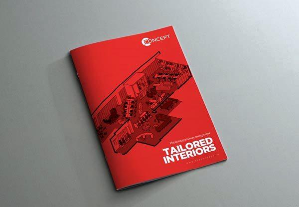 Desain Katalog Brosur Furnitur Modern - Katalog Brosur - - Concept.ru furniture brochure visuals 1