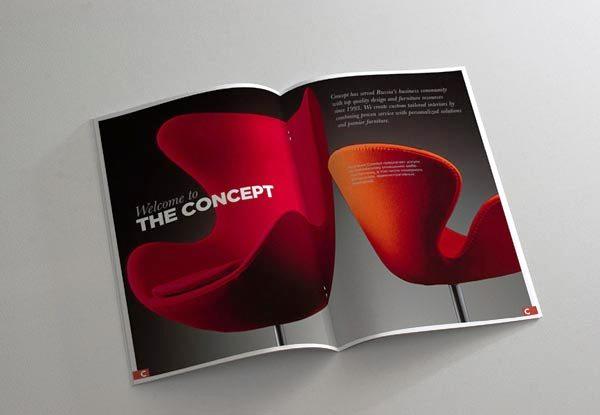 Desain Katalog Brosur Furnitur Modern - Katalog Brosur - - Concept.ru furniture brochure visuals 2