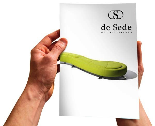 Desain Katalog Brosur Furnitur Modern - Katalog Brosur - - de Sede brochure 1