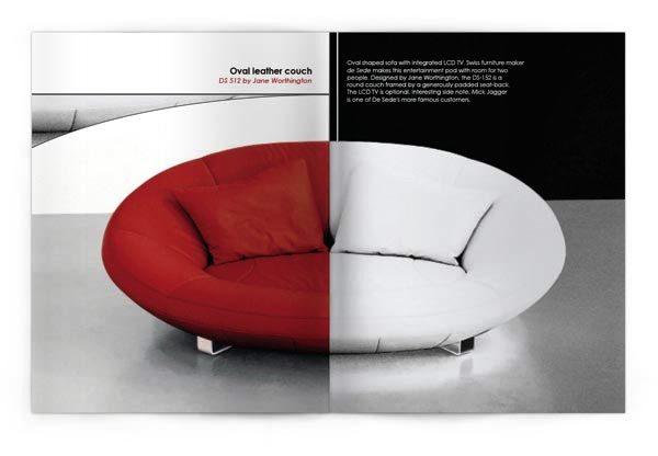 Desain Katalog Brosur Furnitur Modern - Katalog Brosur - - de Sede brochure 2