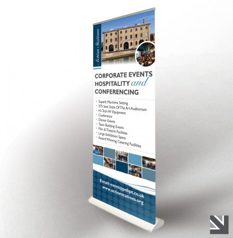 15 Desain Roller Banner - Desain Roller X Banner - Hospitality Conferencing