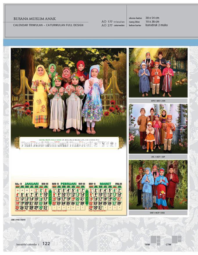 Kalender 2015 Triwulan AO Design Wall Calendar Dinding - Kalender 2015 AO - Triwulan 3 Bulanan - Free Download Jpg Thumbnails Quality Preview - Tema Busana Muslim Anak-anak