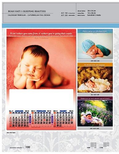 Kalender 2015 Triwulan AO Design Wall Calendar Dinding - Kalender 2015 AO - Triwulan 3 Bulanan - Free Download Jpg Thumbnails Quality Preview - Tema Foto Bayi Buah Hati Anak-anak