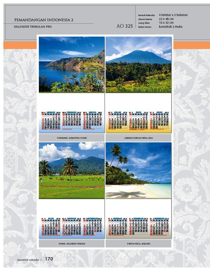 Kalender 2015 Triwulan AO Design Wall Calendar Dinding - Kalender 2015 AO - Triwulan 3 Bulanan - Free Download Jpg Thumbnails Quality Preview - Tema Foto Gambar Pemandangan Alam Indonesia 2