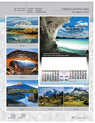 Kalender 2015 Desain Standar Full AO Print Cetak - Kalender 2015 Desain Standar Full - AO 06 - Inspirasi & Motivasi 2