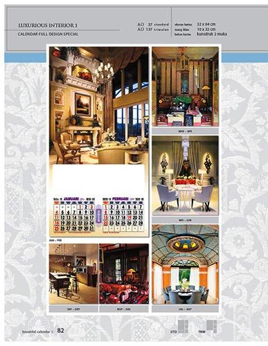 Kalender 2015 Desain Standar Full AO Print Cetak - Kalender 2015 Desain Standar Full - AO 37 - Luxurious Interior 1