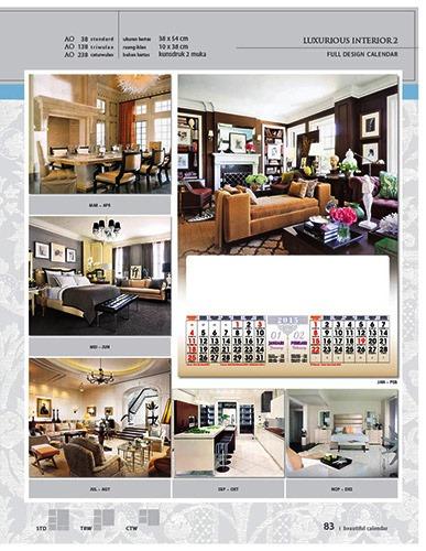 Kalender 2015 Desain Standar Full AO Print Cetak - Kalender 2015 Desain Standar Full - AO 38 - Luxurious Interior 2