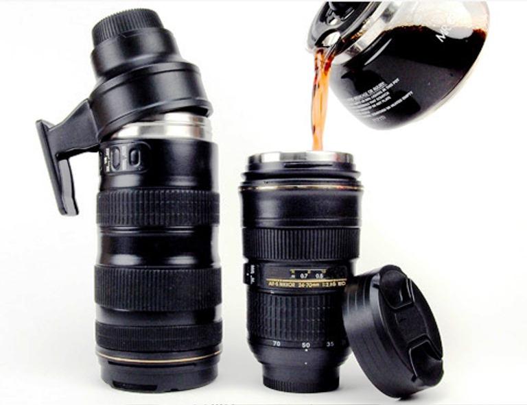 30 Desain Mug Unik dan Nyleneh - Best Mug Design - Desain Unik Nyleneh - Nikon Camera Lens Mugs
