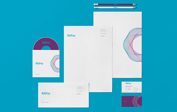 17 Kop Surat dengan Desain Elegan - BillPay-Identity-Branding - Kop Surat Desain Elegan