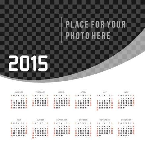 Black-and-white-pattern-background-2015-Vector-Calendar-Kalender-2015-Desain-Unik-Jpg-Printable-dan-Template-Free-Download