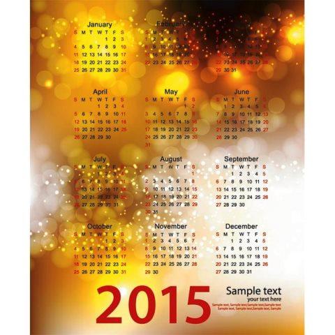 Celebration-orange-background-2015-Vector-Calendar-Kalender-2015-Desain-Unik-Jpg-Printable-dan-Template-Free-Download