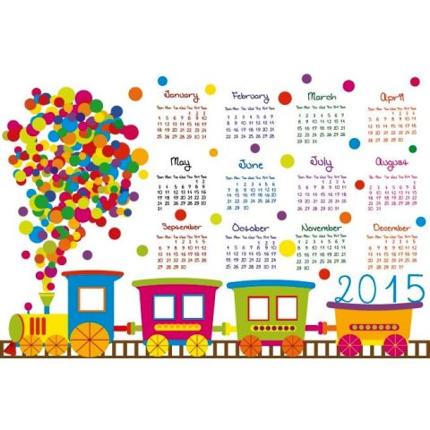 Circle-pattern-Train-2015-Calendar-template-Kalender-2015-Desain-Unik-Jpg-Printable-dan-Template-Free-Download