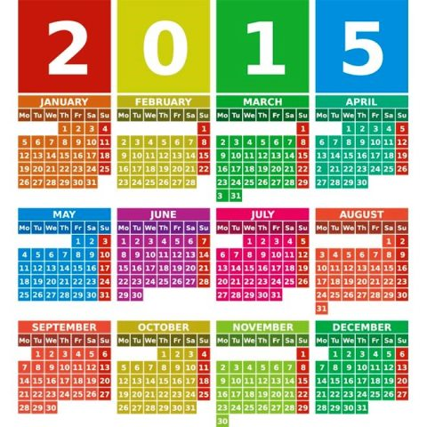 ... -Happy-New-year-2015-Vector-Calendar-Kalender-2015-Desain-Unik