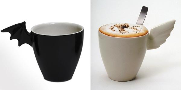 24 Contoh Mug Cangkir Desain Kreatif Original - Contoh Desain Mug Cangkir Kreatif Unik Original - Angel Mug