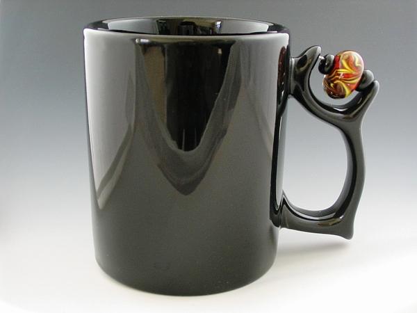 24 Contoh Mug Cangkir Desain Kreatif Original - Contoh Desain Mug Cangkir Kreatif Unik Original - Flame-On Bead Mug 1