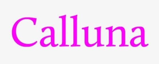 62 Font Unik untuk Desain Grafis - Font-Unik-Calluna