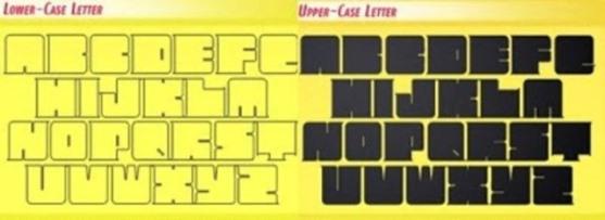 62 Font Unik untuk Desain Grafis - Font-Unik-Exus-Pilot