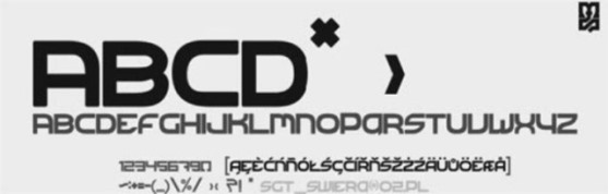 62 Font Unik untuk Desain Grafis - Font-Unik-Free-Fonts-Technical-forest-v2