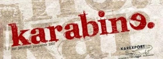 Font Unik - Karabine