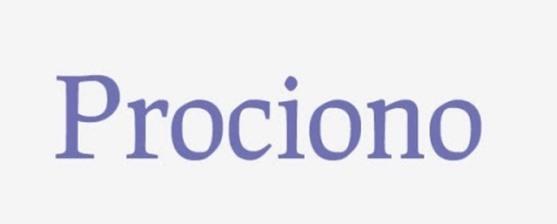 Font Unik - Prociono