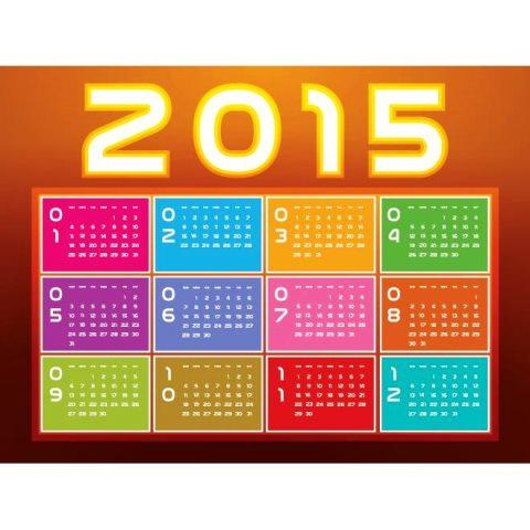 Glowing-2015-Typography-calendar-Vector-Kalender-2015-Desain-Unik-Jpg-Printable-dan-Template-Free-Download