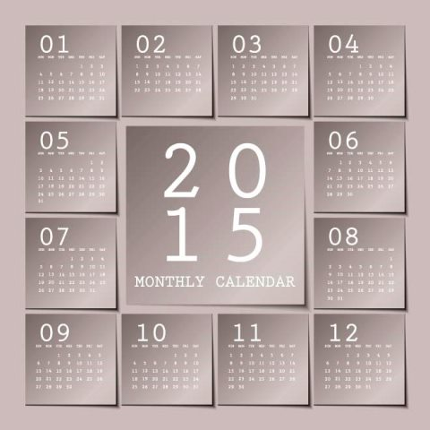 Gray-background-montly-block-sticky-notes-2015-Vector-Calendar-template-Kalender-2015-Desain-Unik-Jpg-Printable-dan-Template-Free-Download