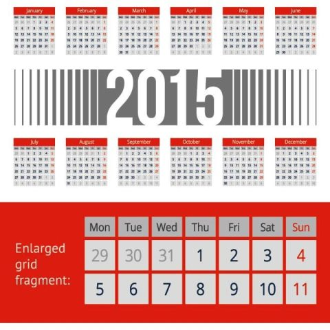 Gray-blinds-with-red-header-2015-Vector-Calendar-Kalender-2015-Desain-Unik-Jpg-Printable-dan-Template-Free-Download