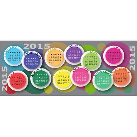 Happy-New-year-colorufl-circle-calendar-template-Kalender-2015-Desain-Unik-Jpg-Printable-dan-Template-Free-Download