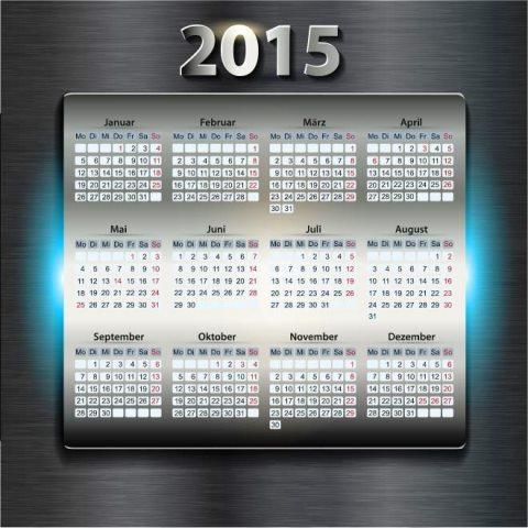 Metal-table-with-2015-Digits-beautiful-iPhone-style-Vector-calendar-template-Kalender-2015-Desain-Unik-Jpg-Printable-dan-Template-Free-Download
