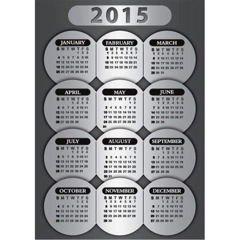 Metalic-color-creative-circle-2015-Vector-calendar-Kalender-2015-Desain-Unik-Jpg-Printable-dan-Template-Free-Download