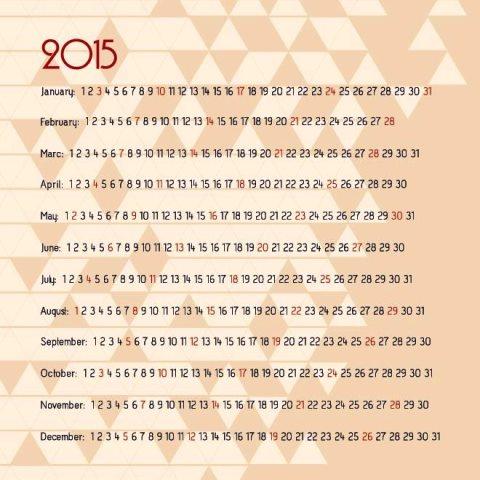 Mosaic-background-vintage-2015-Vector-Calendar-template-Kalender-2015-Desain-Unik-Jpg-Printable-dan-Template-Free-Download