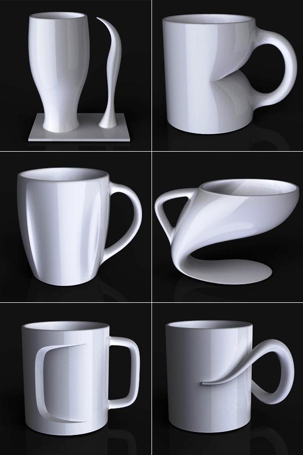 25 Mug Desain Keren untuk Para Maniak - Mug Desain Keren - Buat para penyuka desain modernis