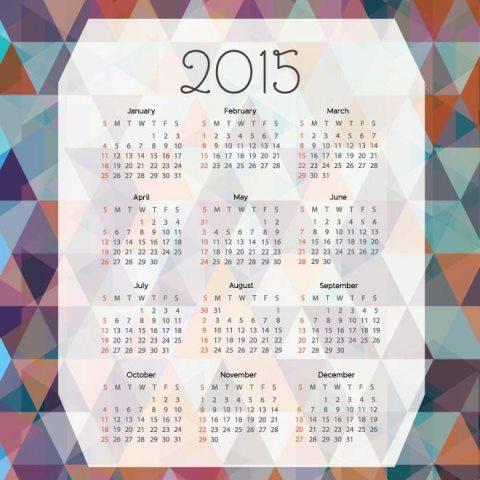 Polygon-shape-background-2015-Vector-Calendar-template-Kalender-2015-Desain-Unik-Jpg-Printable-dan-Template-Free-Download