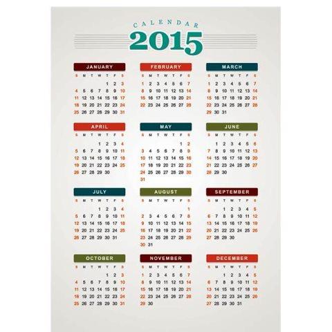 Retro-style-2015-calendar-template-with-colorful-month-badge-Kalender-2015-Desain-Unik-Jpg-Printable-dan-Template-Free-Download